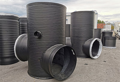 Sewer and hydrometric shafts - GHIBLIPLAST