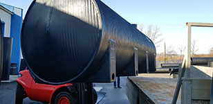 Thermo-insulated tanks - GHIBLIPLAST